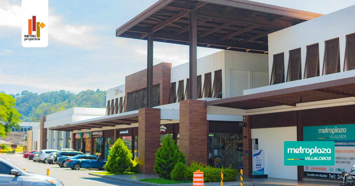 Metroplaza Villalobos en Villa Nueva un desarrollo de METROPROYECTOS