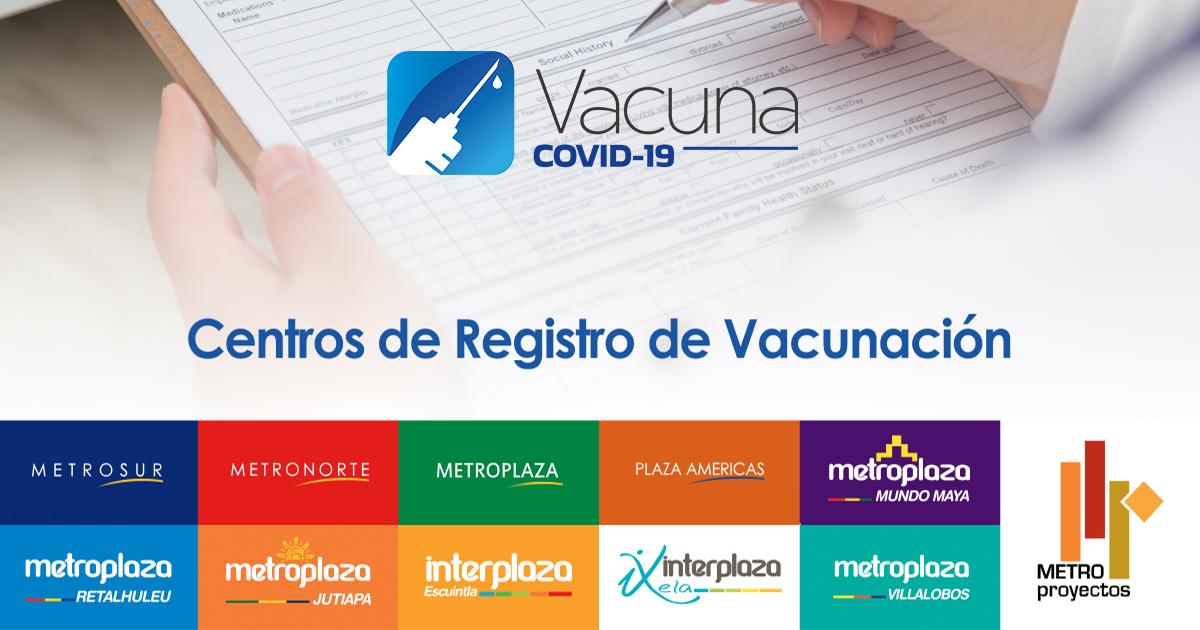 Plan Nacional De Vacunación Contra COVID-19 República De Guatemala Metroproyectos Metronorte