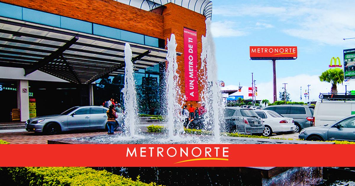 Metronorte Centro Comercial en Guatemala Zona 17
